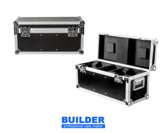 Flight Case For 2x small moving heads, into color beams