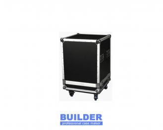 Black Flight Case With Trolley