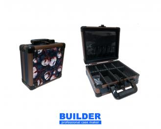 Cotton Pattern Cosmetic Briefcase